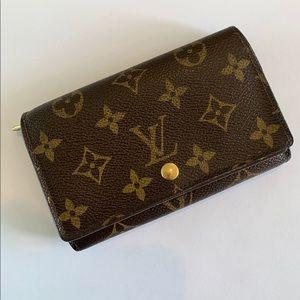 Authentic Louis Vuitton Trésor Wallet